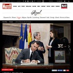 Attentats à Paris - Letizia et Felipe aux côtés des Français