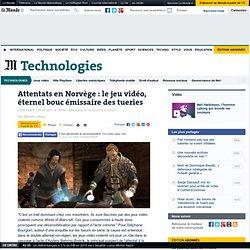 Attentats en Norvège : le jeu vidéo, éternel bouc émissaire des tueries