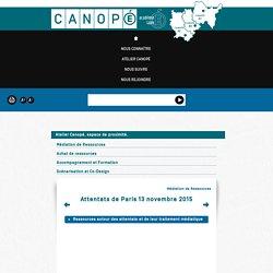 Attentats de Paris 13 novembre 2015 - Canopé de Lyon