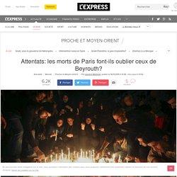 Attentats: les morts de Paris font-ils oublier ceux de Beyrouth?