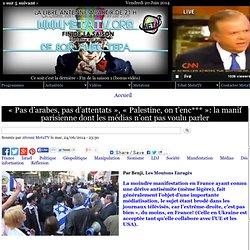 « Pas d'arabes, pas d'attentats », « Palestine, on t'enc*** »: la manif parisienne dont les médias n'ont pas voulu parler