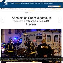 Attentats de Paris: le parcours semé d'embûches des 413 blessés