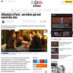 Attentats à Paris : ces héros qui ont sauvé des vies - L'Obs