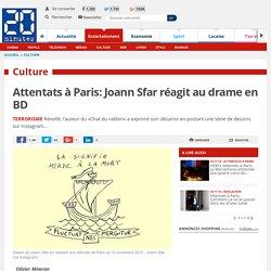 Attentats à Paris: Joann Sfar réagit au drame en BD