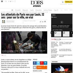 Les attentats de Paris vus par Louis, 12 ans : peur sur la ville, en vrai
