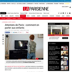 Attentats de Paris : comment en parler aux enfants