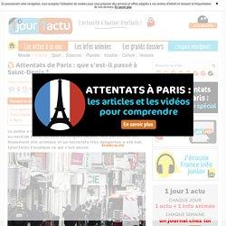 Attentats de Paris : que s'est-il passé à Saint-Denis ? - 1jour1actu.com - L'actualité à hauteur d'enfants !