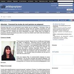 Attentats : Comment les écoles du nord parisien se préparent