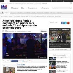 Attentats dans Paris : comment en parler aux enfants ? Les réponses de psychologues