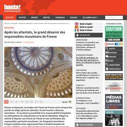 Après les attentats, le grand désarroi des responsables musulmans de France