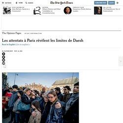 Les attentats à Paris révèlent les limites de Daesh