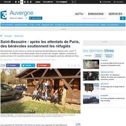 Saint-Beauzire : après les attentats de Paris, des bénévoles soutiennent les réfugiés - France 3 Auvergne