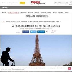 A Paris, les attentats ont fait fuir les touristes