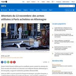Attentats du 13 novembre: des armes utilisées à Paris achetées en Allemagne