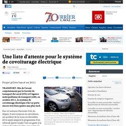Une liste d'attente pour le système de covoiturage électrique - Société