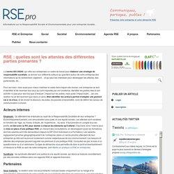RSE en entreprise : les attentes des salariés et fournisseurs