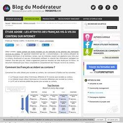 Étude Adobe : les attentes des Français vis-à-vis du contenu sur Internet