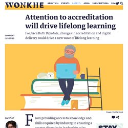 Attention to accreditation will drive lifelong learning