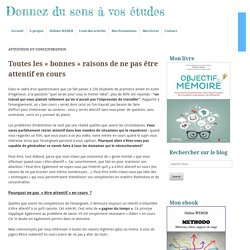 Category » Attention et concentration » page 6