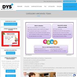 TDAH - Trouble du déficit de l'attention avec hyperactivité - TDAH - ADHD