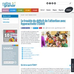 Le trouble du déficit de l'attention avec hyperactivité (TDAH)