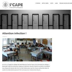 Attention infection ! (chimie SVT - 4ème)