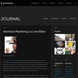 Attention Marketing le livre blanc