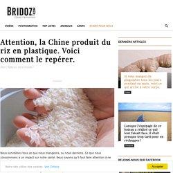 Attention, la Chine Produit du Riz en Plastique. Voici Comment Le Repérer.