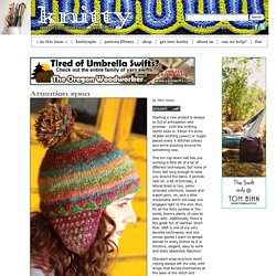 Attention span hat: Knitty.com - Winter 2015