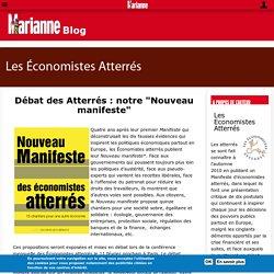 """Débat des Atterrés : notre """"Nouveau manifeste"""""""