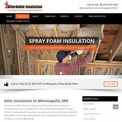Attic Insulation contractor MN