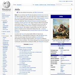 Attila ~395-453