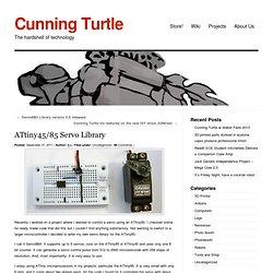 » ATtiny45/85 Servo Library Cunning Turtle