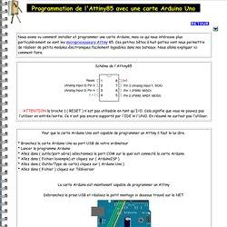 attiny85 arduino modelisme naval