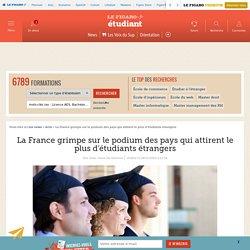 La France grimpe sur le podium des pays qui attirent le plus d'étudiants étrangers