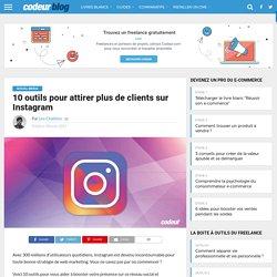 10 outils pour attirer plus de clients sur Instagram