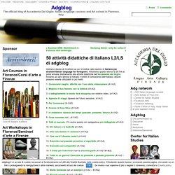 50 attività didattiche di italiano L2/LS di adgblog