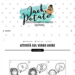 Attività sul verbo avere - Jack Potato