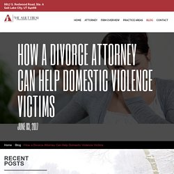 How a Divorce Attorney Can Help Domestic Violence Victims?