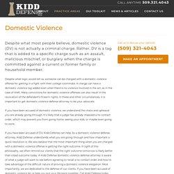domestic violence Spokane