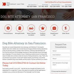 Dog Bite Attorney San Francisco