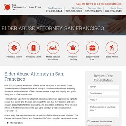 Elder abuse attorney San Francisco