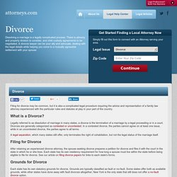 Divorce Attorney - Find Local Divorce and Separation Lawyers - Attorneys.com