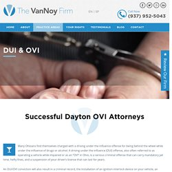DUI attorneys Dayton