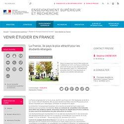 La France, 3e pays le plus attractif pour les étudiants étrangers - ESR : enseignementsup-recherche.gouv.fr