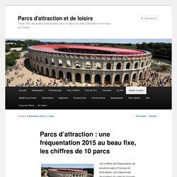 Parcs d'attraction : une fréquentation 2015 au beau fixe - Parcs d'attraction et de loisirs