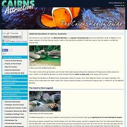 Babinda Boulders near Cairns, Australia - Babinda Attractions: Rainforest Walks & Natural Swimming Holes