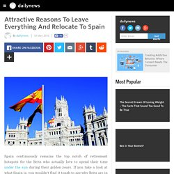Should You Relocate to Spain?
