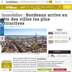 Bordeaux arrive en tête des villes les plus attractives, Immobilier
