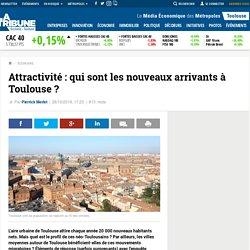 Attractivité : qui sont les nouveaux arrivants à Toulouse ?